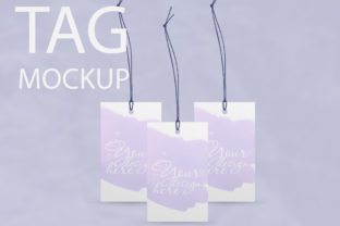 3 Tag Mockup, Thank You Tag Graphic By Natalia Arkusha