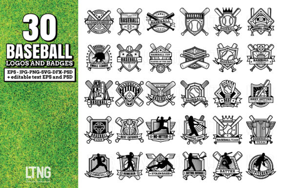 Download Free Baseball Bundle Graphic By Luluimanda82 Creative Fabrica for Cricut Explore, Silhouette and other cutting machines.