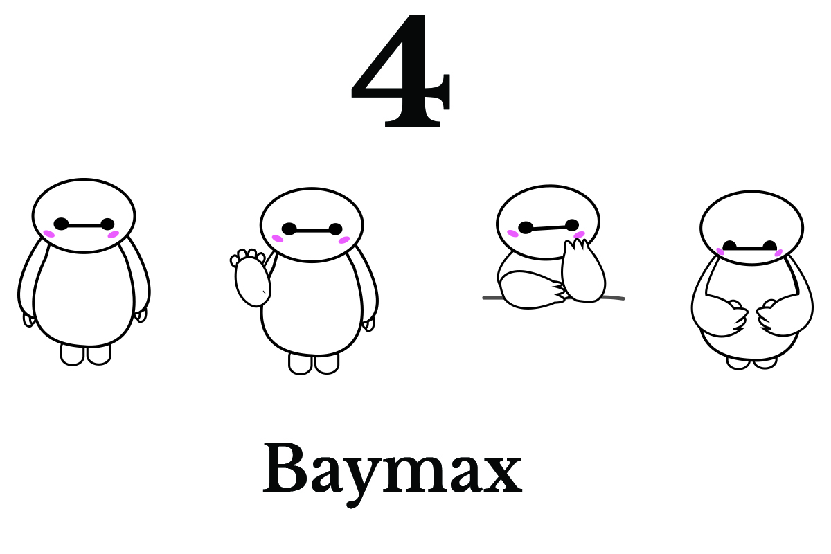 Download Free 4 Baymax Emoji Graphic By Game Art Creative Fabrica for Cricut Explore, Silhouette and other cutting machines.