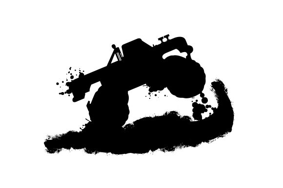 Download Free 4 Wheel Drive Truck Jumping Svg Cut File By Creative Fabrica for Cricut Explore, Silhouette and other cutting machines.