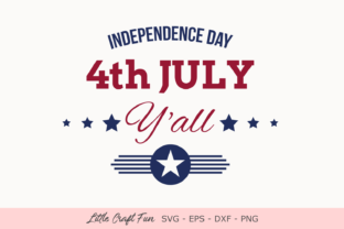 Download Free 4th July 4th July Independence Day Graphic By Little Craft Fun for Cricut Explore, Silhouette and other cutting machines.