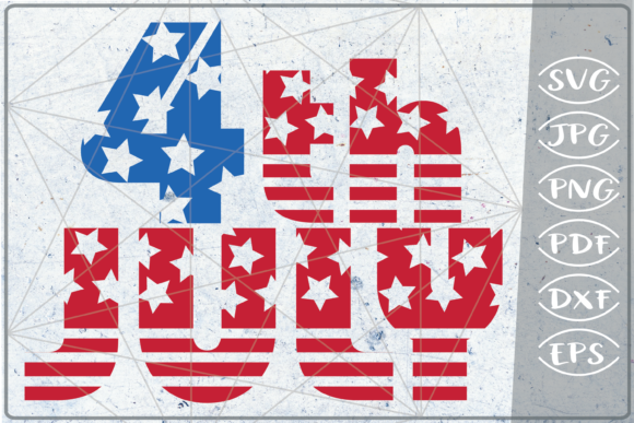 4th of July SVG Independence Day Crafter Graphic Crafts By Cute Graphic