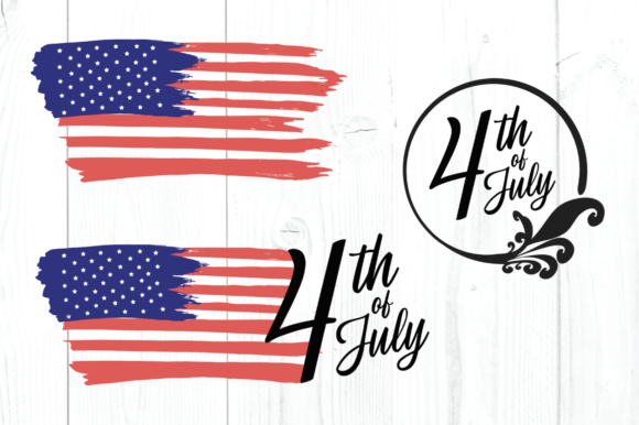 4th of July SVG Graphic By luxedesignartetsy Image 1