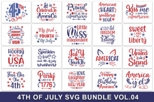 Download Free 4th Of July Bundle Vol 02 Graphic By Handmade Studio Creative for Cricut Explore, Silhouette and other cutting machines.