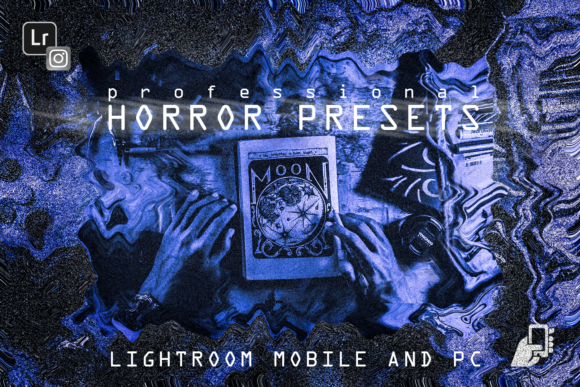 Download Free 5 Horror Presets Mobile Pc Halloween V2 Graphic By 2suns for Cricut Explore, Silhouette and other cutting machines.