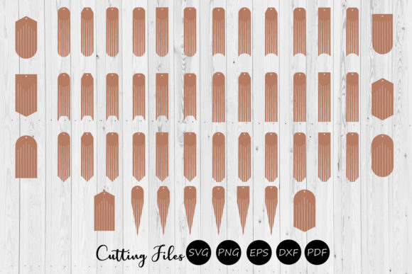 Download Free 50 Fringe Earrings Svg Graphic By Hd Art Workshop Creative Fabrica for Cricut Explore, Silhouette and other cutting machines.