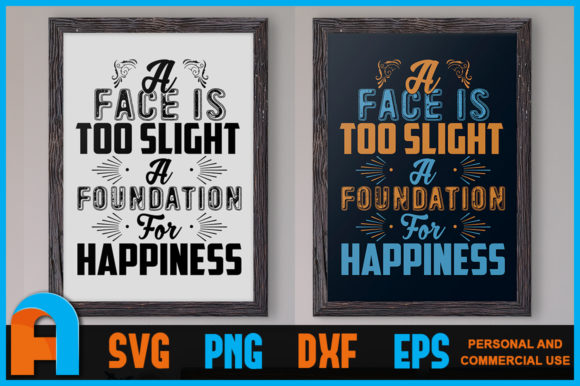 Download Free A Face Is Too Slight Poster Design Graphic By Aartstudioexpo for Cricut Explore, Silhouette and other cutting machines.