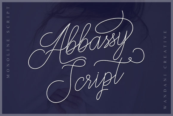 Print on Demand: Abbassy Script Script & Handwritten Font By Wandani Creative