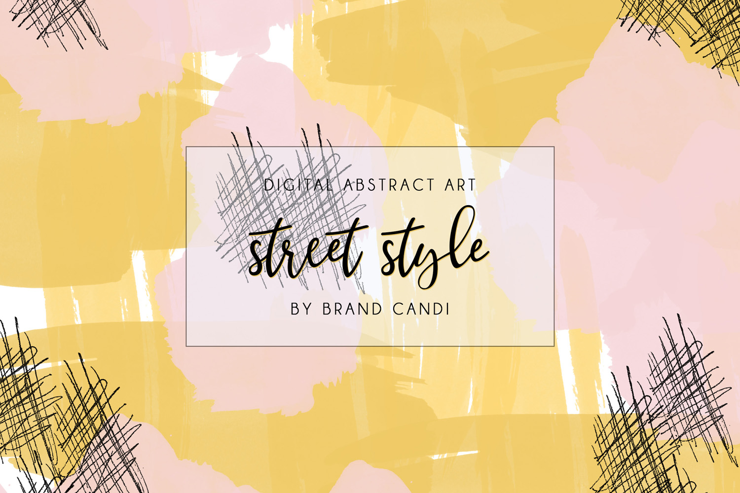 Download Free Abstract Art Pattern Graphic By Brand Candi Designs Creative for Cricut Explore, Silhouette and other cutting machines.