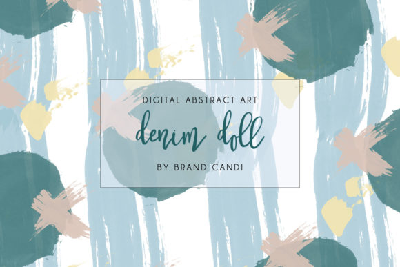 Abstract Art Pattern Graphic By Brand Candi Designs