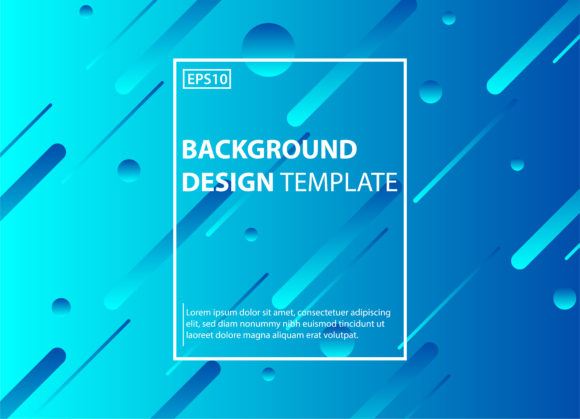 Abstract Background with Gradient Color Graphic By diiconstudio