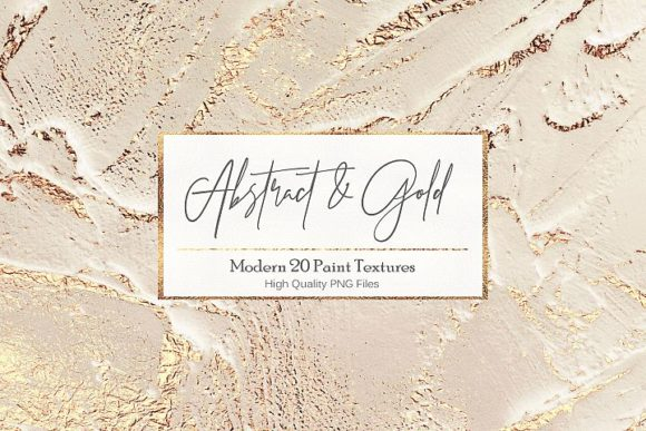 Abstract Gold Paint Backgrounds Graphic By artisssticcc