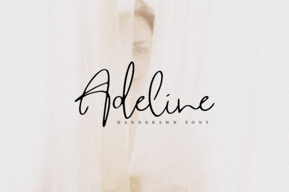 Print on Demand: Adeline Script & Handwritten Font By Katie Holland