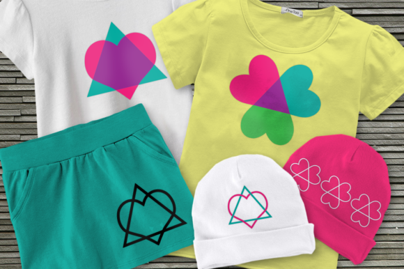 Download Free Adoption Triangle Svg Set Graphic By Designedbygeeks Creative for Cricut Explore, Silhouette and other cutting machines.