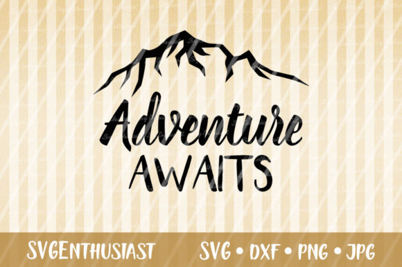 Download Free Adventure Awaits Svg Cut File Graphic By Svgenthusiast for Cricut Explore, Silhouette and other cutting machines.