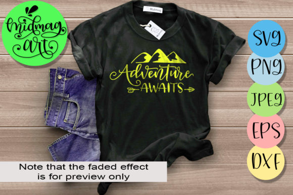 Download Free Adventure Awaits Camping Graphic By Midmagart Creative Fabrica for Cricut Explore, Silhouette and other cutting machines.
