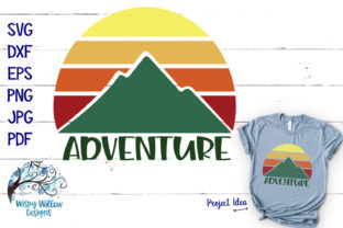 Adventure Outdoor Camping Mountain SVG Graphic By WispyWillowDesigns
