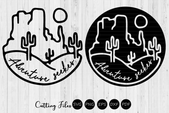 Print on Demand: Adventure Seeker Camping SVG Graphic Graphic Templates By HD Art Workshop
