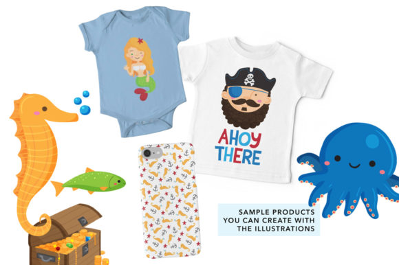 Print on Demand: Ahoy There Nautical Illustrations Graphic Illustrations By Reg Silva Art Shop - Image 4