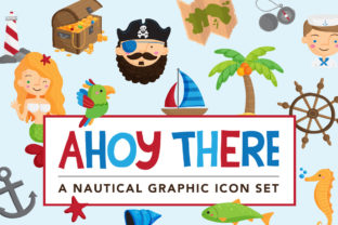 Ahoy There Nautical Illustrations Graphic By Reg Silva Art Shop