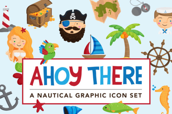 Print on Demand: Ahoy There Nautical Illustrations Graphic Illustrations By Reg Silva Art Shop - Image 1