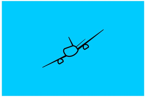 Download Free Airplane Icon Vector Eps 10 Graphic By Hoeda80 Creative Fabrica for Cricut Explore, Silhouette and other cutting machines.