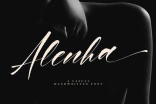 Alenha Font By missinklab