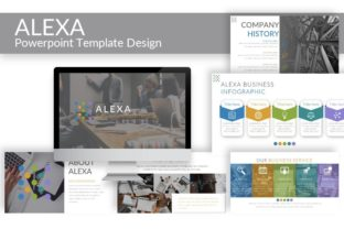 Download Free Alexa Powerpoint Template Graphic By Artdreamerstudio for Cricut Explore, Silhouette and other cutting machines.