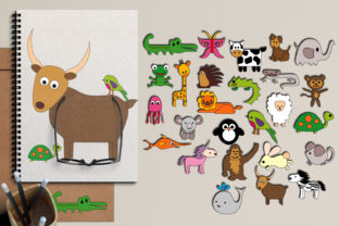 Alphabet Animals Graphic By Revidevi