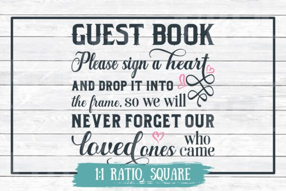 Download Free Alternative Wedding Guest Book Graphic By for Cricut Explore, Silhouette and other cutting machines.