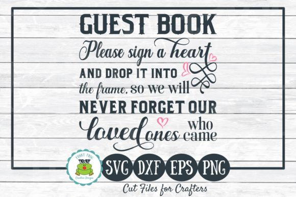 Download Free Alternative Wedding Guest Book Graphic By Funkyfrogcreativedesigns Creative Fabrica for Cricut Explore, Silhouette and other cutting machines.