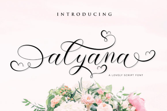 Print on Demand: Alyana Script & Handwritten Font By fanastudio