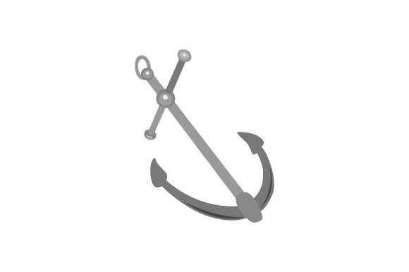 Anchor Nautical Craft Cut File By Creative Fabrica Crafts - Image 1