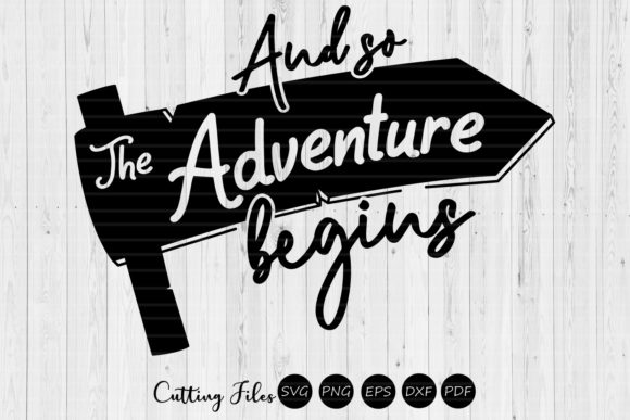Download Free And So The Adventure Begins Camping Svg Graphic By Hd Art for Cricut Explore, Silhouette and other cutting machines.
