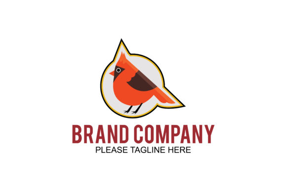 Download Free Animal Bird Logo Graphic By Friendesigns Creative Fabrica for Cricut Explore, Silhouette and other cutting machines.