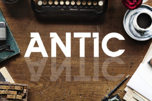 Antic Font By da_only_aan
