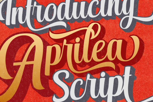 Print on Demand: Aprilea Script Script & Handwritten Font By Debut Studio