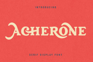 Archerone Font By Runsell Graphic