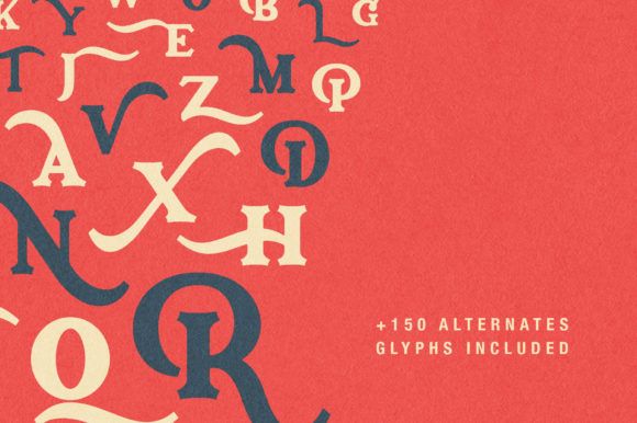 Print on Demand: Archerone Display Font By Runsell Graphic - Image 8