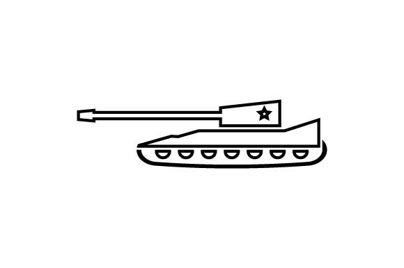 Download Free Army Military Tank Icon Vector Graphic By Hoeda80 Creative for Cricut Explore, Silhouette and other cutting machines.