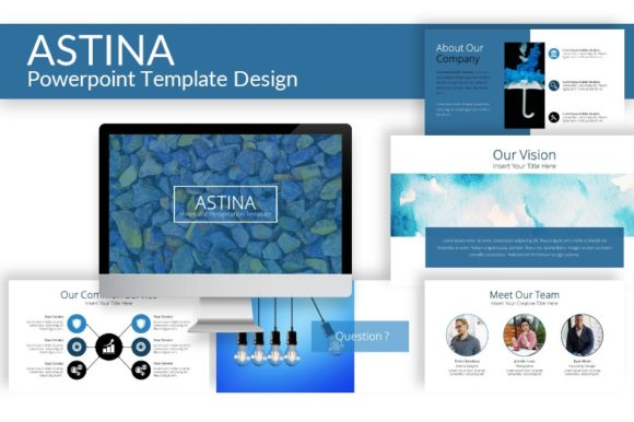 Astina- Powerpoint Template Graphic Presentation Templates By ArtDreamerStudio