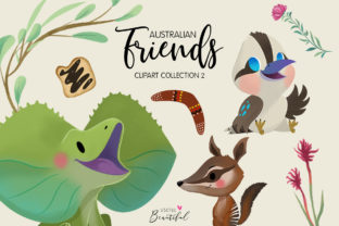 Australian Friends Clipart Collection 02 Graphic By usefulbeautiful
