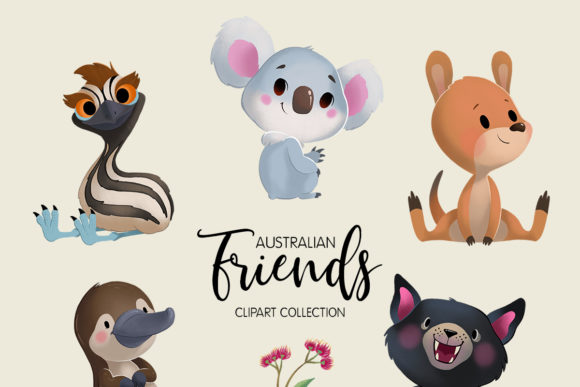 Australian Friends Clipart Collection Graphic By usefulbeautiful Image 2
