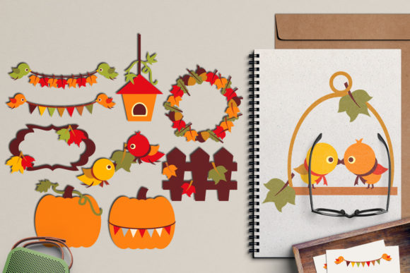 Print on Demand: Autumn Fall Season Graphic Illustrations By Revidevi