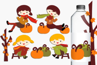 Autumn Harvest Time Graphic By Revidevi