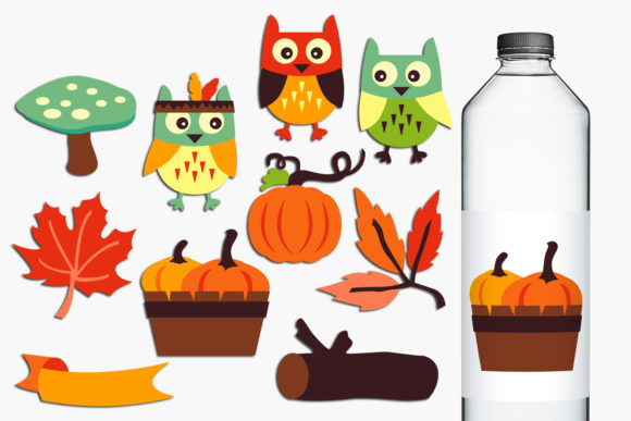 Print on Demand: Autumn Graphic Illustrations By Revidevi