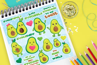 Download Free Avocado Party Graphic By Prettygrafik Creative Fabrica SVG Cut Files
