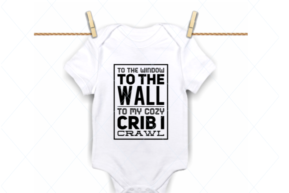 Print on Demand: Baby Onesie, Funny Baby Bodysuit Graphic Crafts By TheLoveByrds