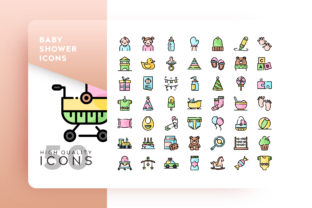 Baby Shower Icon Graphic By Goodware.Std