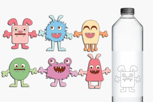 Baby Monsters Graphic By Revidevi